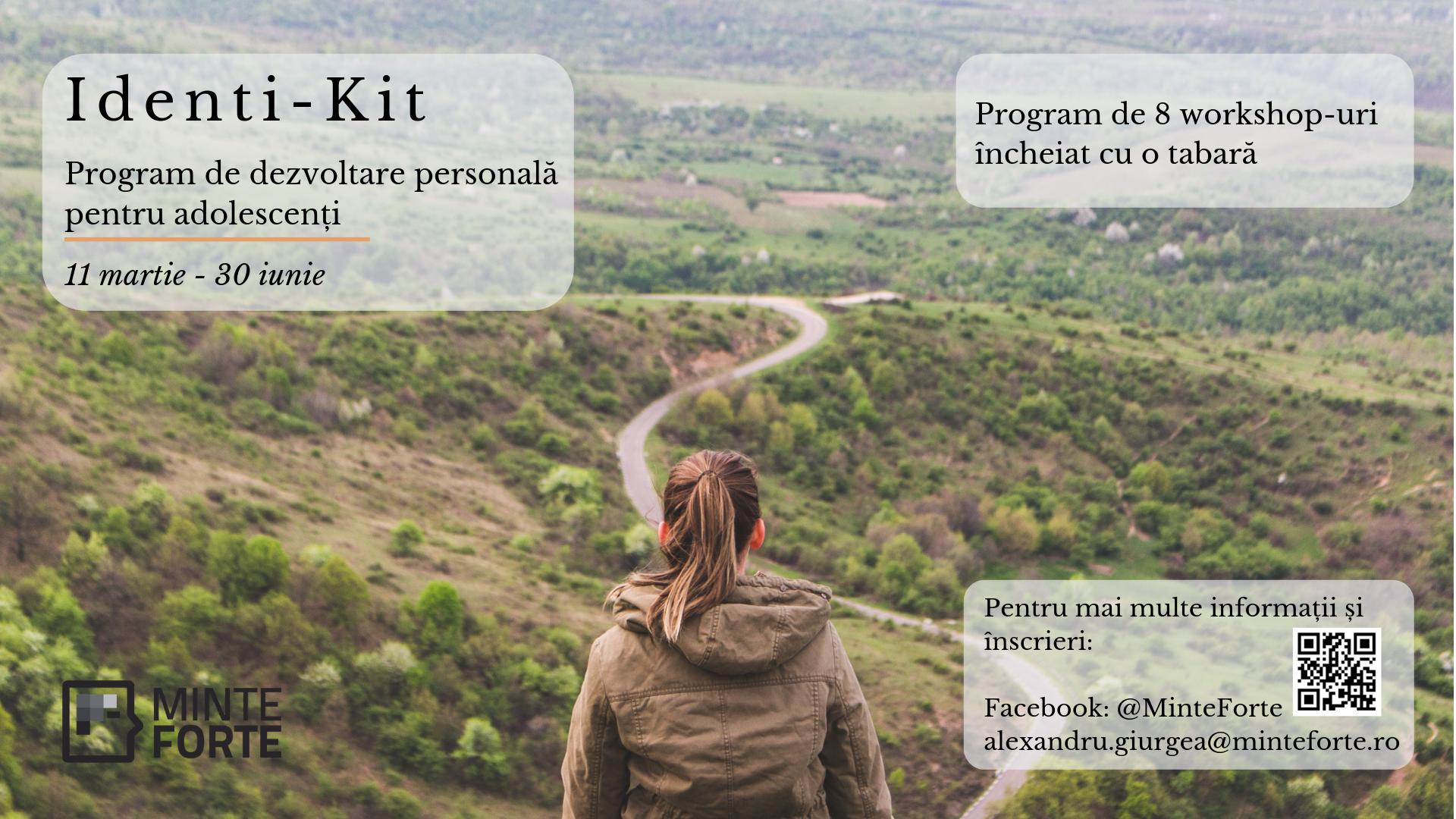 Identi-Kit – Program de dezvoltare socio-emoțională pentru adolescenți