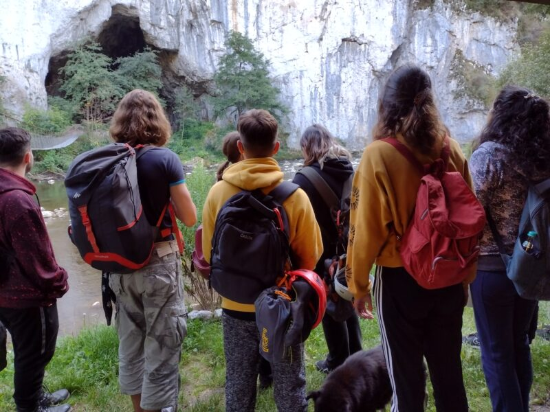 Climbing camp with Minte Forte